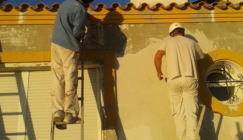 servicio de reparación de fachadas en Jerez